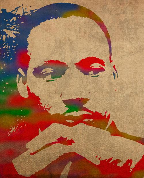 martin-luther-king-jr-watercolor-portrait-on-worn-distressed-canvas-design-turnpike